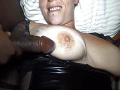 German milf - first time dp with 2 bbc