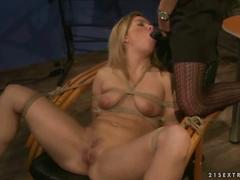 Mistress mandy bright punisihing slavegirl