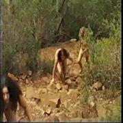Naked hiking - 3 chicks