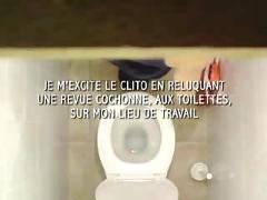 Masturbation auf der toilette