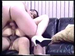 Double pussy penetration, double penetration