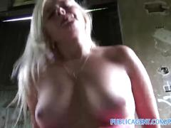 big tits, blonde, pov, publicagent, big boobs, reality, real, outdoors, outside, cumshot, amateur, camcorder, sex for cash, sex for money, public, sex with stranger