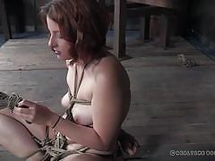 milf, chubby, bdsm, redhead, foursome, reality, mask, blindfolded, rope bondage, spider, real time bondage, kel bowie