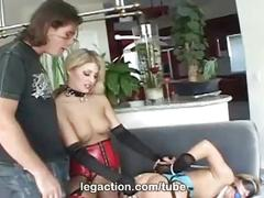 Extreme threesome sex with lacie hart & dana duval only at legaction