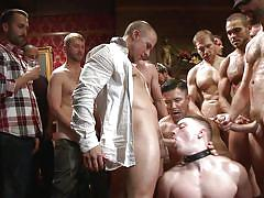 Hot stud humiliated in public
