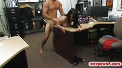 Sexy latina railed by nasty pawn keeper at the pawnshop
