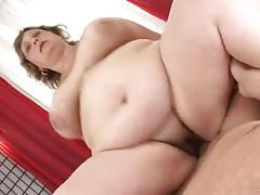 Big grandma bbw hairy kiki