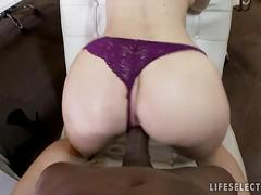Black guy banging two babes with sexy feet