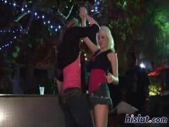 lesbian, party, public, grope, outdoor