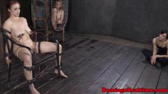 Bounded sub bella rossi electric torture