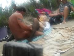 amateur, beach, nudist, outdoor, voyeur