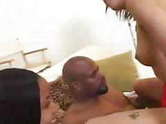 Mr. marcus fucks two redbone hoodrats