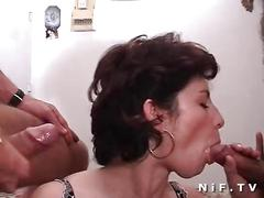 anal, cumshot, sex, blowjob, amateur, mature, threesome, french