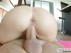 All internal april blue pussy creampie with hot jizz
