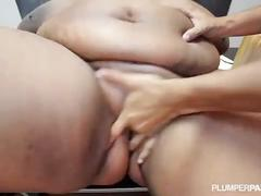 Fat tit bbw school teacher is fucked by 2 students