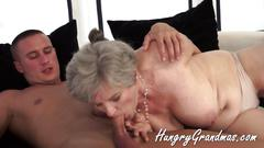 Grannies are the best to fuck with