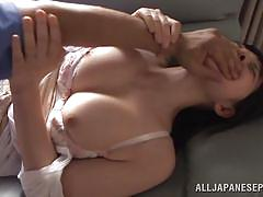 Gagged and anal fucked