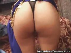 Indian babe threesome sex