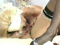 Big boobs busty blonde lesbians has sex with her maid