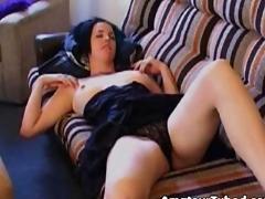 Amazing masturbating