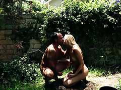 Bskow kinky blonde jessie andrews plays with a...