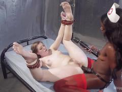 Anal lesbian medical dungeon