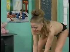 Strapon anal girls
