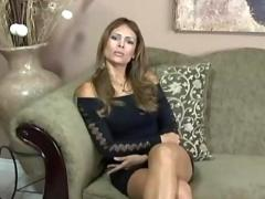 Latina creampie for the white guy