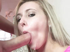 Horny coed lilly banks is getting pounded by a stranger