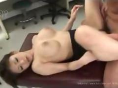 Creampie big tits doctor4