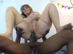 interracial, mature, milf, mom, extreme, ass, cum, big cock, brutal