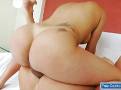 masturbation, shemale, ass, fucking, handjob