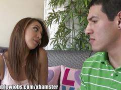 Onlyteenbj young teen sara luv is fucking her sister's ex!