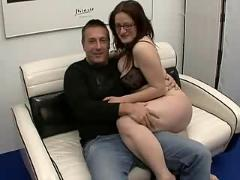 Big boobs milf and her hubby