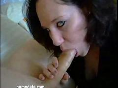 Hot girlfriend sucks and gets nailed