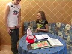 Russian teen fucked