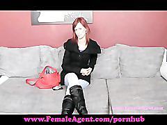 Femaleagent. i'll teach you