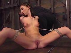 Bamboo watches veronica orgasm repeatedly tied up