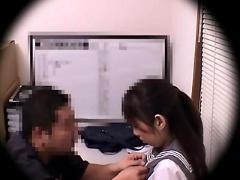 Blackmailed schoolgirl 2