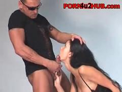Helena karel hot french latina gets fucked in stockings