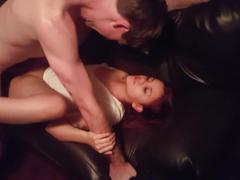 Slut wife getting fucked in front of husband