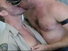Hairy gay police fuckers hardcore anal whacking