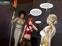 3d comic: legacy. episodes 28-29. magesleep...the first...