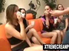 Euro creampie cum swaping lesbian orgy