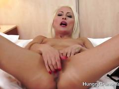 Blonde granny pornstar