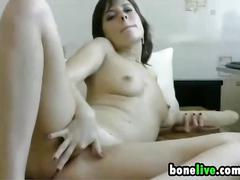 Dirty russian mother masturbates