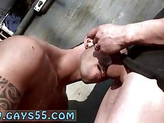 Gay twink sex video clip two guys anal fucking outdoors