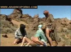 Arab girl desert sex