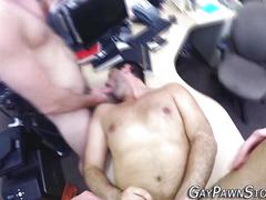 Amateur gets anal fucked naked