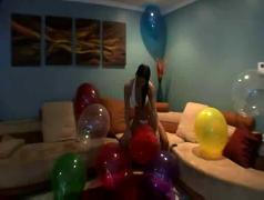 big, tits, balloons